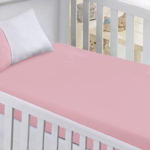 Lençol Avulso para Berço Infantil com Elástico em Algodão Buettner Baby