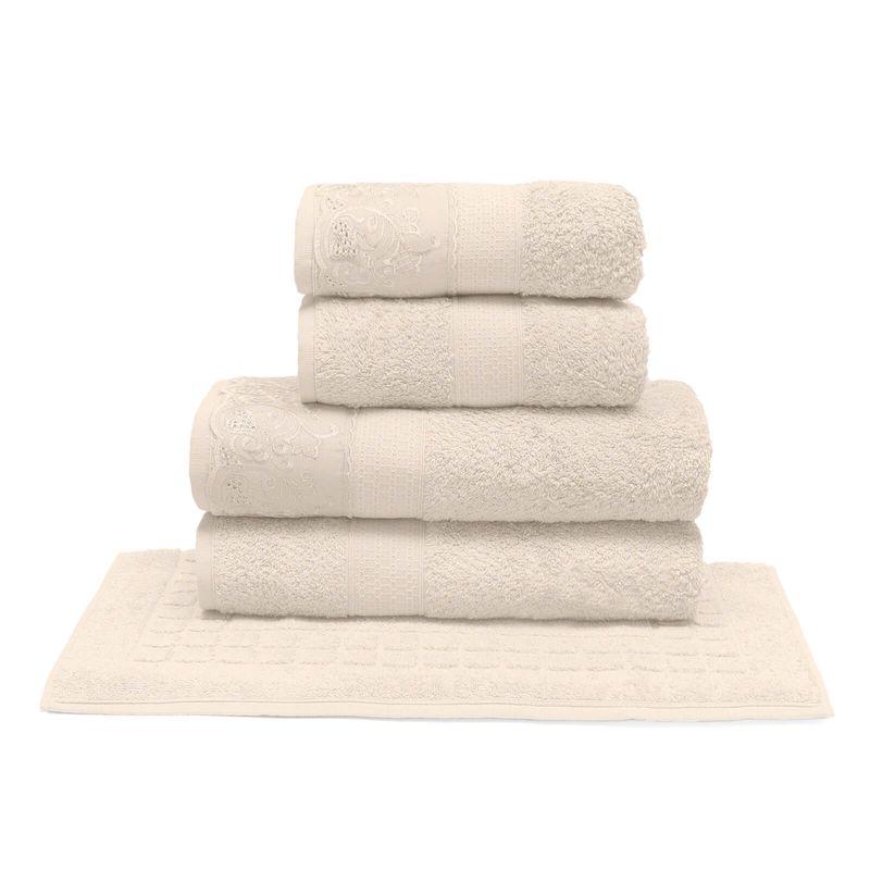 jogo-de-toalhas-com-renda-5-pecas-em-algodao-500-gramas-buettner-nadia-cor-perola-principal