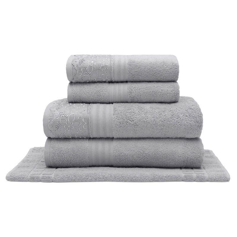 jogo-de-toalhas-com-renda-5-pecas-em-algodao-egipcio-500gr-buettner-sahar-cor-cinza-principal