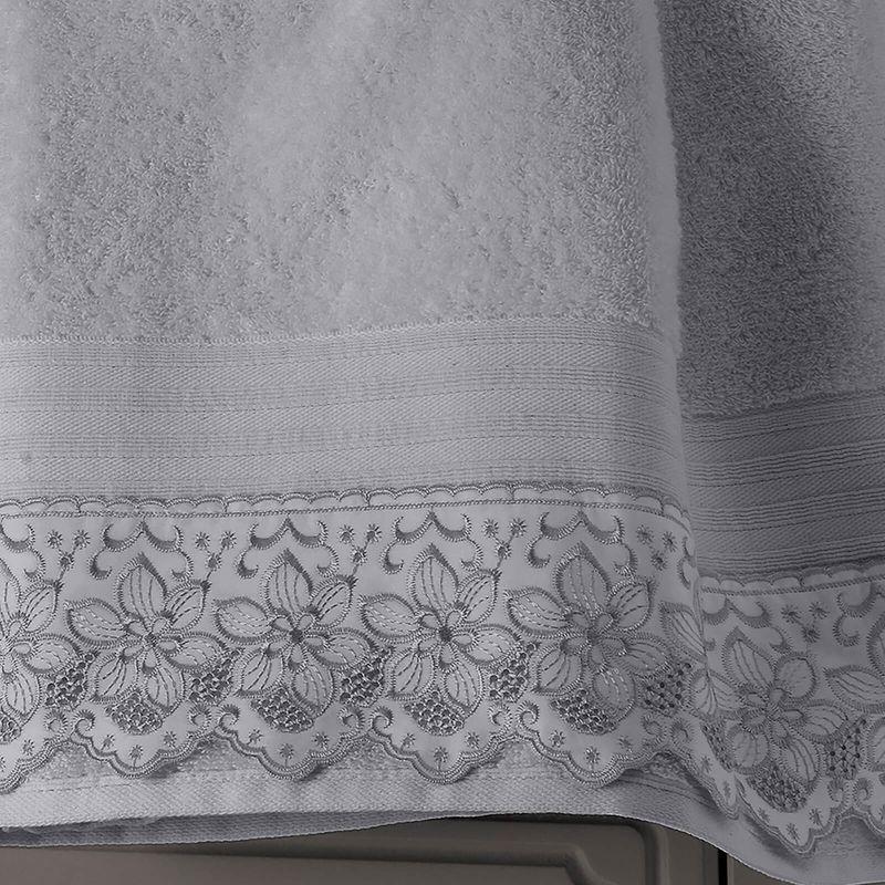 jogo-de-toalhas-com-renda-5-pecas-em-algodao-egipcio-500gr-buettner-sahar-cor-cinza-detalhe
