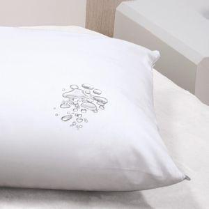 Capa Protetora Impermeável para Travesseiro com Zíper 180 fios Bouton Avulso