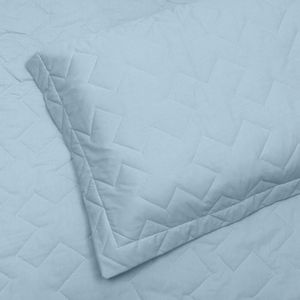 Porta Travesseiro em Matelassê com Aba Avulsa 200 fios Buettner Reffinata Color