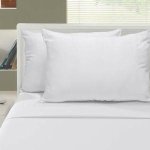 Travesseiro com Capa em Microfibra 100% Poliéster Firenze Conforto Buettner