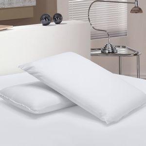 Travesseiro Baixo Viscoelástico com Capa em 100% Algodão Liege Buettner